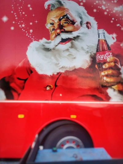 Other Cola's are available.. Red Adult One Person People Christmas Human Body Part Adults Only One Man Only Indoors  Christmas Only Men Day