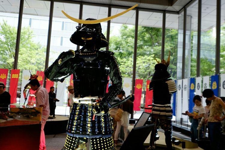 甲冑 armor Armor 甲冑 鎧甲 丸の内 Marunouchi Fujixe2 Fujifilm X-E2 Fujifilm_xseries Xf10-24mm Fujifilm