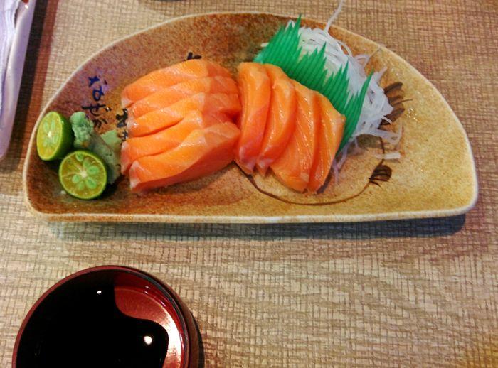 First Eyeem Photo Food Photography Sashimi Dish Ajisenramen Foodpics Food Japanese Food