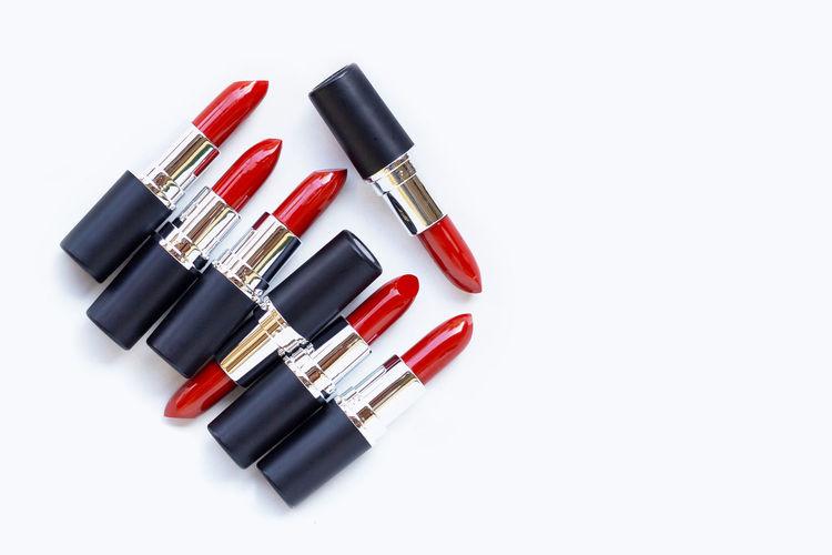 Lipsticks on
