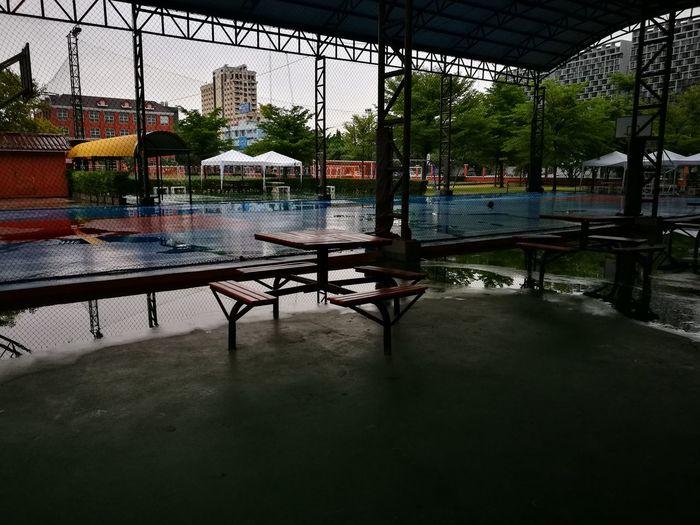 When it rains... Puddle School Rain