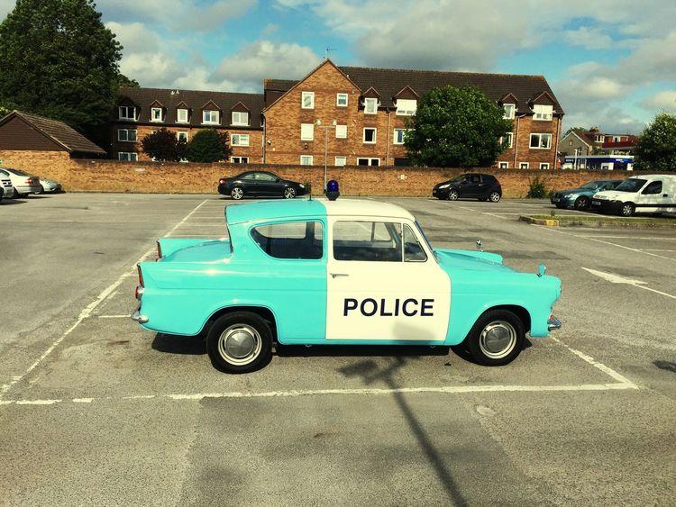 Policecar Police Old Police Car