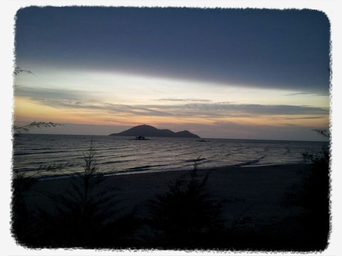 batu payung village sunset