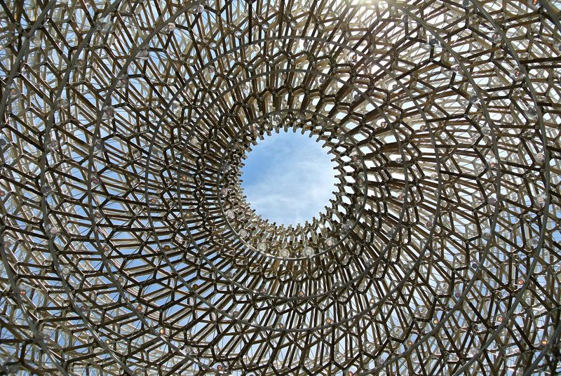 Expo 2015  United Kingdom Pavilion Cupola Sphere Metal Modern Architecture The Architect - 2015 EyeEm Awards Nikon Pattern Pieces Postcode Postcards