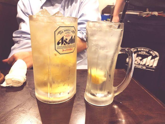 居酒屋 Izakaya Highball Drink Food And Drink Glass Drinking Glass Close-up Table Alcohol Cup