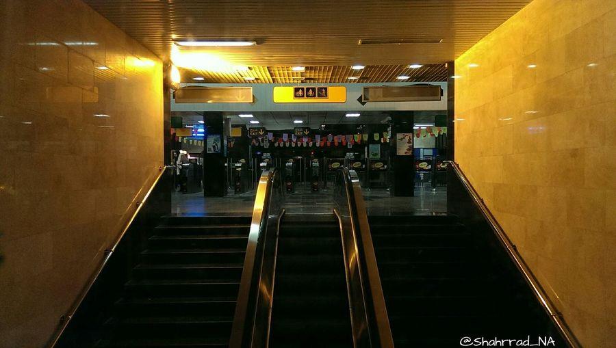 Empty Shahrrad_NA Photography Metro Tehran