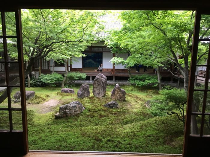 This is the beautiful garden in Japan Temple Architecture Japan Tradition Beautiful Gardenview