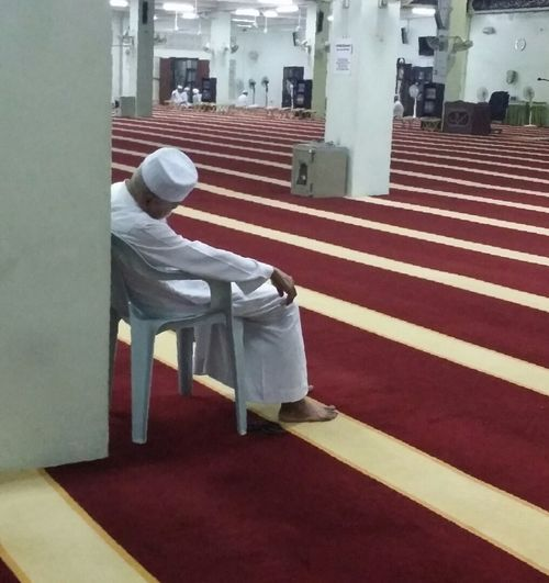 Taking a rest Masjid Masjid Al Hasanah