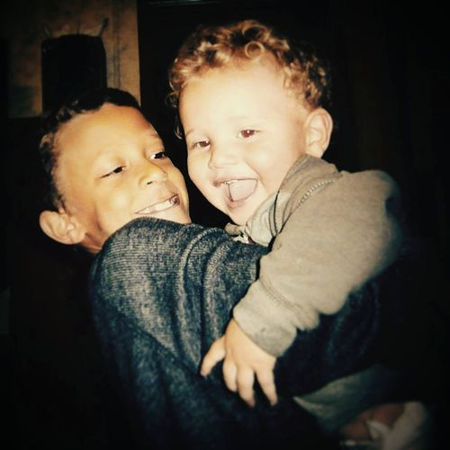 My nephews are two beautiful pieces of art.