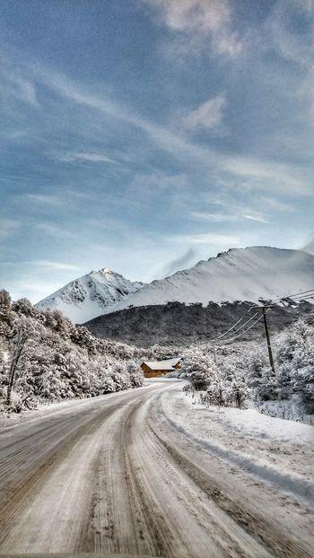 Ushuaia Tierra del Fuego Ushuaia Argentina Winter Snow Mountains