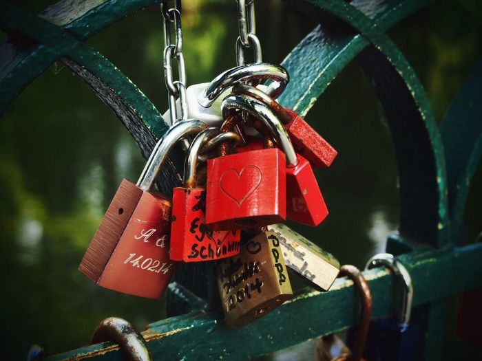Padlock Security Love Lock Lock Love Protection Safety Metal Hope Heart Shape Luck Hope - Concept Hanging No People