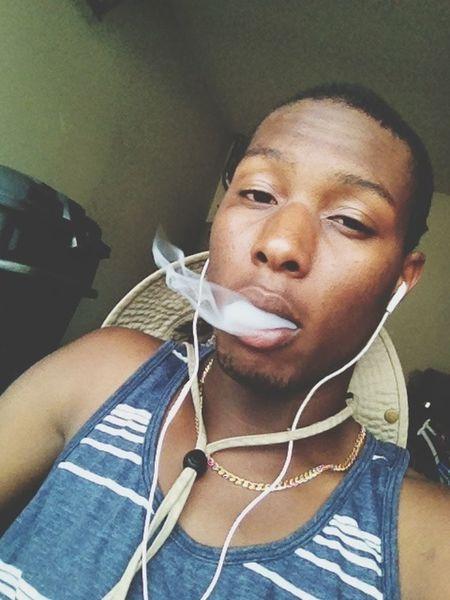 Smoking dope. ✏