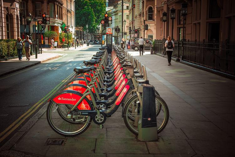 Bikes are