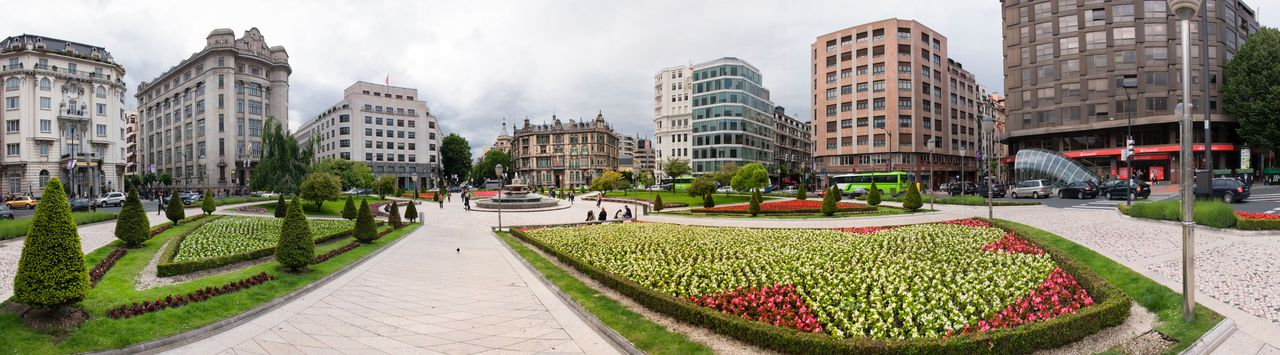 Architecture Basque Country Bilbao Building Building Exterior City City Euskadi Euskal Herria Euskalherria Garden Landscape Outdoors Pais Vasco Panorama Panorama View Panoramic Panoramic Photography Panoramic View Panoramic Views Panorámica Urban Landscapes With WhiteWall