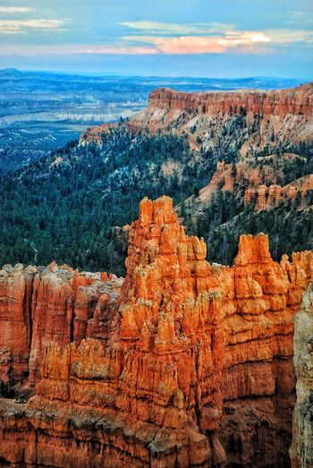 Rock Formation Geology Rock - Object Sky Nature Beauty In Nature Physical Geography Scenics Tranquil Scene Day Tranquility Landscape Outdoors Mountain No People Cliff Travel Destinations Cloud - Sky Rock Hoodoo Rocky Mountains Beauty In Nature Bryce Canyon National Park Lost In The Landscape