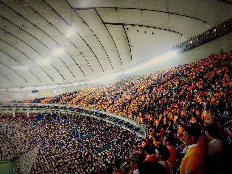 本日【メッツォ・アラネロ】デー♪職人井端のサヨナラタイムリーで勝利w Tokyo,Japan Baseball Game Tokyodome 東京ドーム