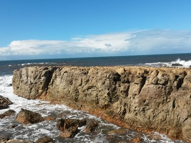 Taking Photos Sky And Sea Blue Sea Rock Formation Water And Rocks Sea_collection Amazing_captures Rocks In The Sea South Africa Rocky Coastline Bluesky Amazing Places Beautiful Day Picturing Individuality Water Sea And Sky Stunning Scenery Stunning Place Clouds And Sky Colour Of Life