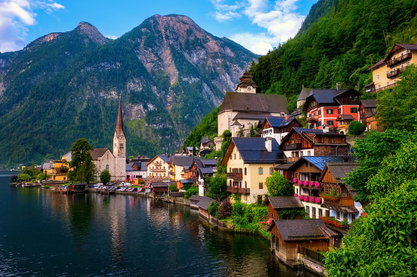 Architecture Austria Beauty In Nature Building Exterior Built Structure Day EyeEm Best Shots EyeEm Nature Lover Hallstatt Holiday House Lake Landscape Mountain Mountain Range Nature No People Outdoors Range Scenics Sky Tree UNESCO World Heritage Site Water Waterfront Been There.