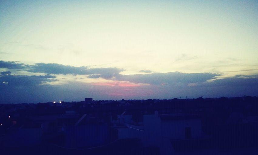Atardecer desde la azotea Clouds And Sky Los Palacios Y Villafranca