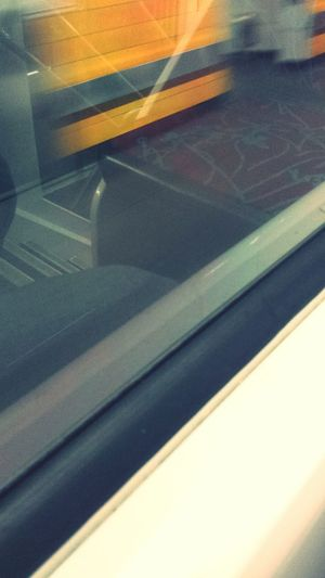 Inthetrain Trainstation Reflection
