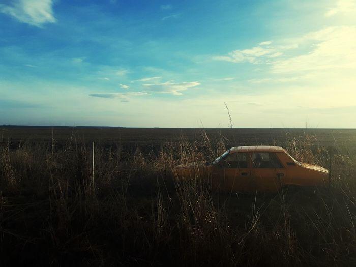 Dacia Abandoned