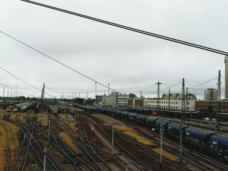 The train station Debrecen. First Eyeem Photo