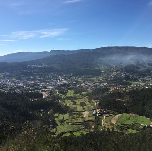Arouca Panoramic View
