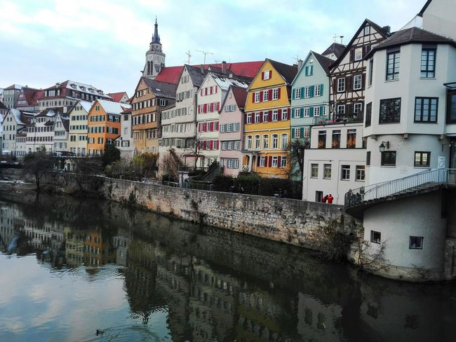 Tübingen Tuebingen old town and river Tübingen Tuebingen Sights Baden-Württemberg  Old Town Colorful Façade River Mirror Mirroring In Water Reflect Reflection University Town University Life Students Life Germany Architecture Building Exterior Built Structure Sky Old Town Cloud - Sky Outdoors Residential Building Day City No People Water Cityscape