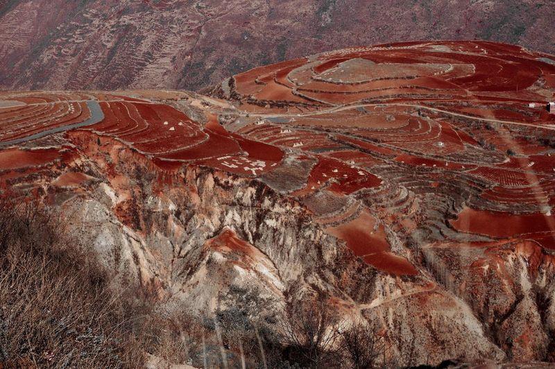 Majestic landscape in china