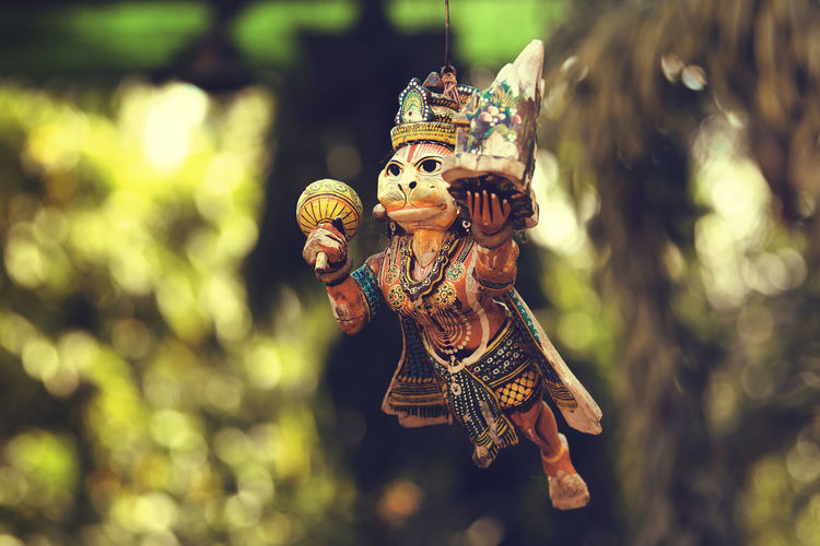 EyeEm EyeEm Best Shots EyeEm Selects EyeEm Gallery EyeEmBestPics EyeEmNewHere Indian Gods Indian Culture  Art And Craft Bajrangbali Belief Craft Creativity Hanging Hanuman Statue Indian Mythology No People Outdoors Ramayana Religion Religion And Beliefs Sculpture Spirituality Statue Toy