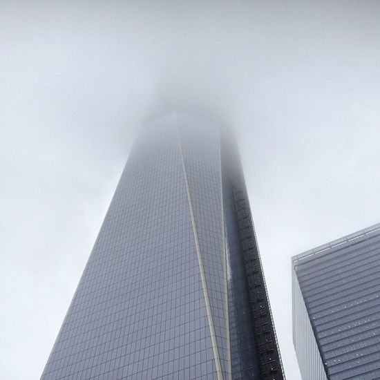Freedomtower in the early morning NYC Fog Manhattan newyork newyorkcity architecture