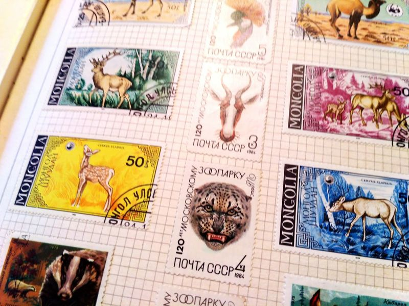 Stamps Ussr Animals