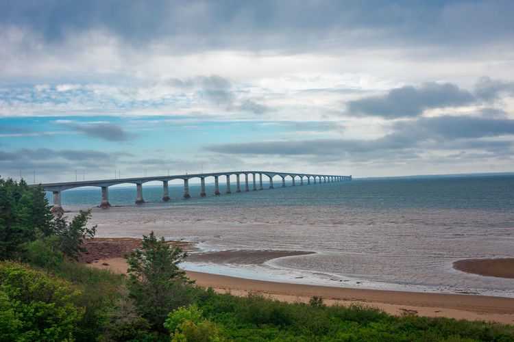 Confederation Bridge Longest Bridge North America Nova Scotia, Canada Canada Coast To Coast Place To See Prince Edward Island Seabridge Travel Destinations Trourism
