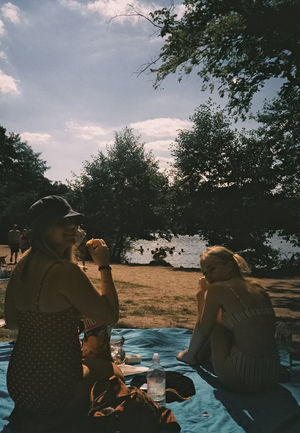 Schachtensee Picnic EyeEmNewHere Summer Summer In Berlin Lakeside Lakes  Berlin Picnic Film Photography 35mm Lake Seeufer Summer in the City