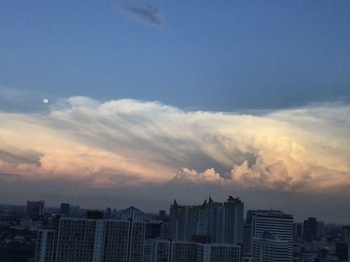 City Sky Cloud