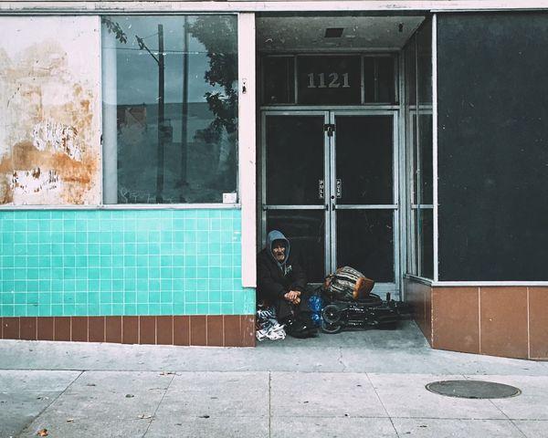 Sacramento IPhoneography Streetphotography Homeless