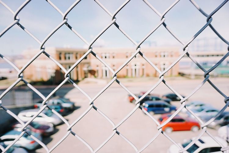Chainlink Fence Outdoors City Security Protection Safety Chainlinkfencephotography Chainlink Close Up Day