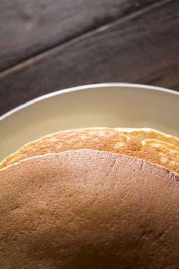 Detail Shot Of Pancakes