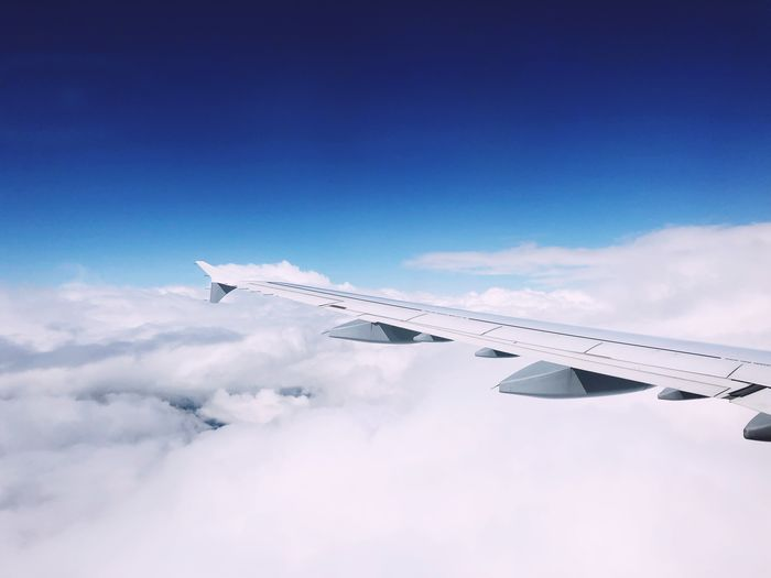 EyeEm Selects Sky Cloud - Sky Airplane Air Vehicle Flying Mode Of Transportation