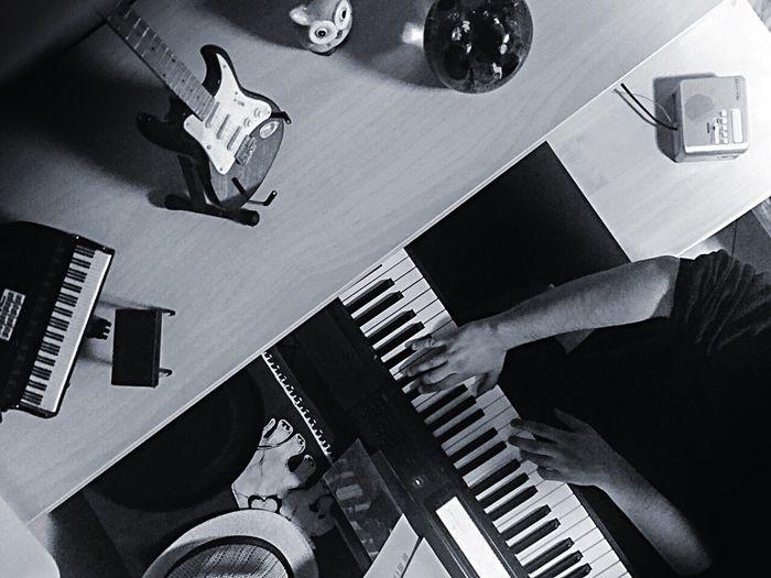 """""""Piani"""" Musical Instrument Piano Blackandwhite Project Autoritratto Piano Moments"""