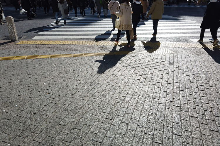 Morning Morning Light People Urban Walking Japan Shibuya Shibuya Crossing Intersection Business Finance And Industry Business Walking Around City Cityscape Street Tokyo Group Of People Low Section Real People Crowd Human Leg Large Group Of People Women Lifestyles Day Body Part Adult Motion City Life Shadow Transportation Sunlight Men Outdoors City Street Paving Stone Human Limb