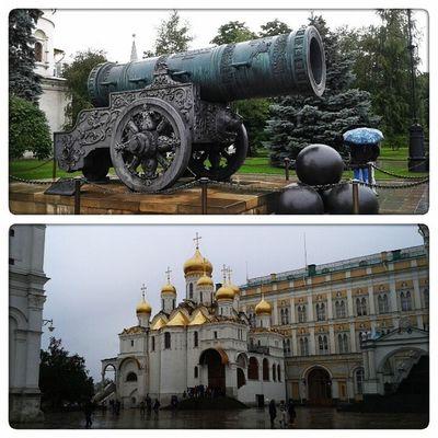 """Я сегодня была в Кремле - впервые со школьных времен, наверное. Это, конечно, место """"на любителя"""". Поражает отсутствие любого комфорта для туристов:("""