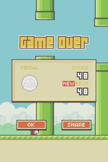 sorry for not uploading any pictures, flappy bird has taken over my life Flappy Bird