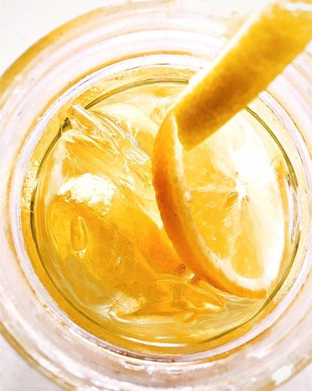 Lemonade🍋 Glass - Material Ice Cube Yellow Water Lemon