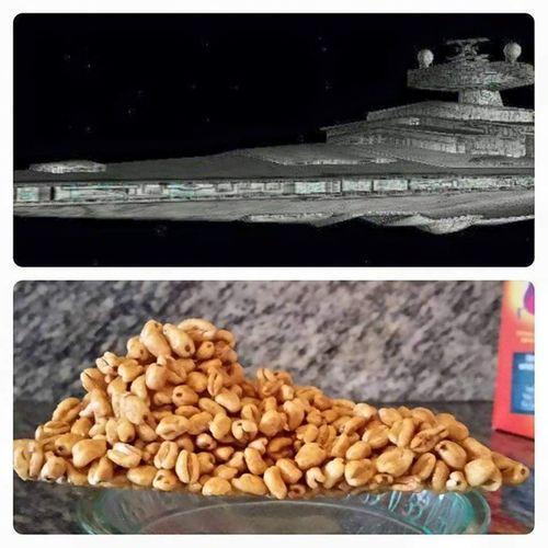 Smacks de kellogs, el bon esmorzar pel bon Soldat Imperial. Starwars Destructorimperial Imperialdestroyer SmacksWars
