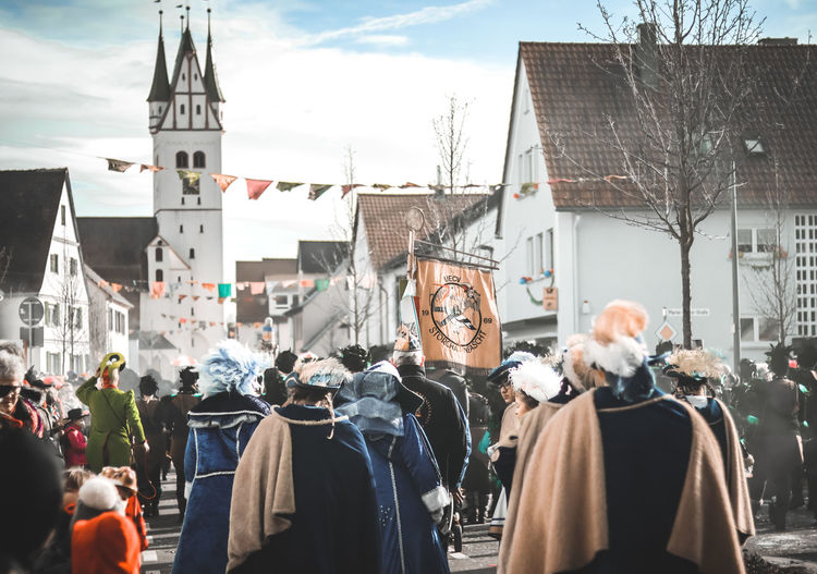 Fasching EyeEm Best Shots EyeEm Selects EyeEmBestPics City Photography EyeEm Best Edits Canon City Life Streetphotography Street City Town Celebration Sky Festival TOWNSCAPE City Street Urban Scene My Best Photo International Women's Day 2019