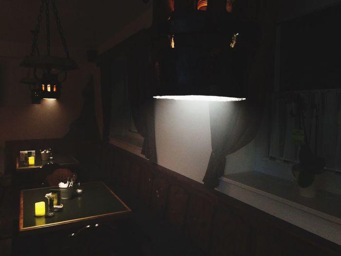Halloween Feelings Restaurant Transilvania Night Light Darkness And Light
