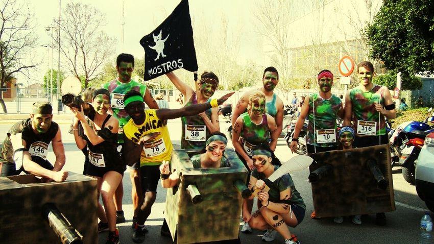 Crazy Race Valencia!!!! Enjoying Life Show Us Your Thirty