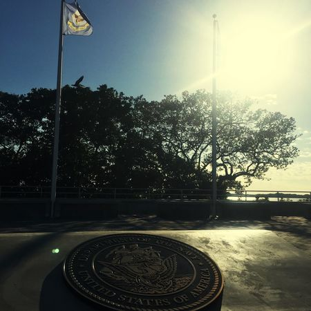 Pier United States Seal Military In Honor Of By The Sea