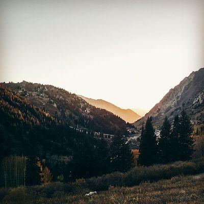 Vscocam LittleCottonWood Sunset Utah
